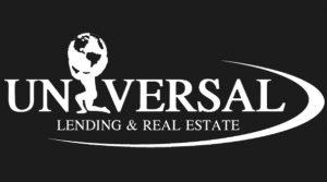 Universal Lending & Real Estate Business Logo